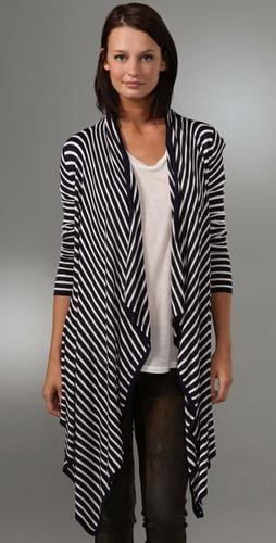 MINKPINK Stripe Cardigan
