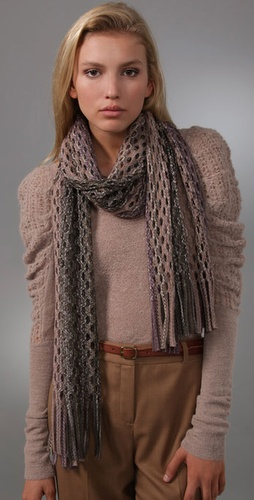 Missoni Lattice Scarf