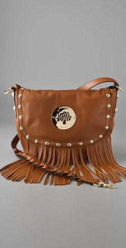 Mulberry Daria Satchel with Fringe