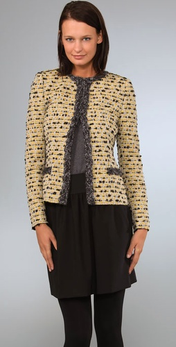 M Missoni Short Jacket With Trim Detail