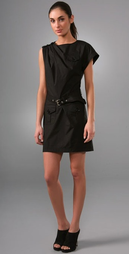 Moschino Cheap And Chic Pocket Dress