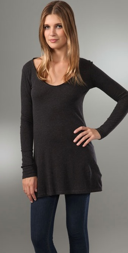 Majestic U Neck Tunic