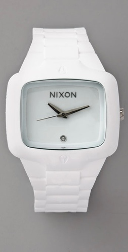 Nixon Oversized Rubber Player Watch