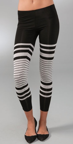 Only Hearts Stripe Leggings