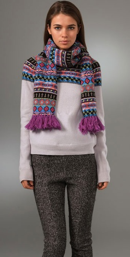 Opening Ceremony Fair Isle Crew Neck Swea