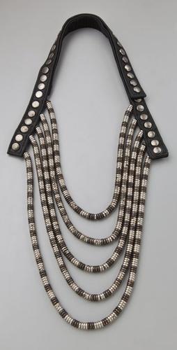 Pamela Love Heishi Bead Necklace