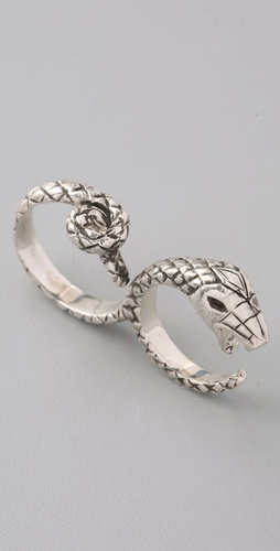 Pamela Love Double Snake Ring