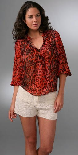 Patterson J. Kincaid Egyptian Tunic Top