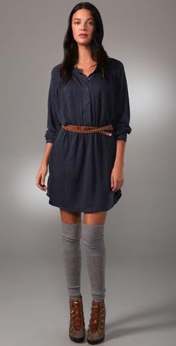 Patterson J. Kincaid Deanna Belted Dress