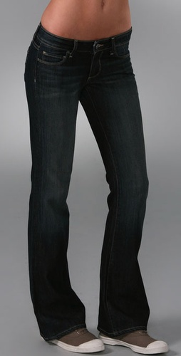 Paige Denim Petite Hollywood Hills Boot Cut Jeans