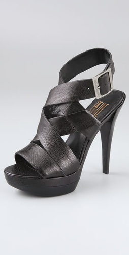 Pelle Moda Caly Platform Sandals