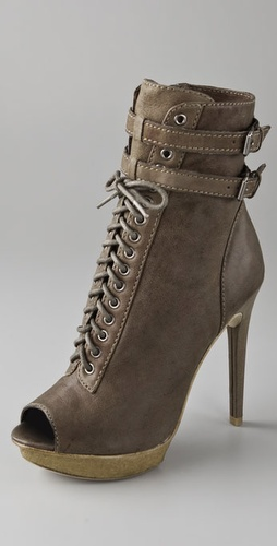 Pelle Moda Sachet Lace Up Booties