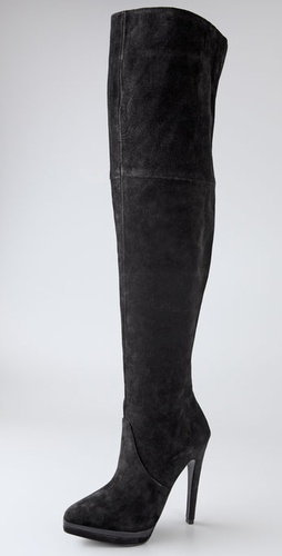 Pelle Moda Vogue Suede Over The Knee Boot
