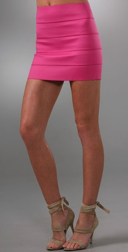Pleasure doing business 5 Band Miniskirt