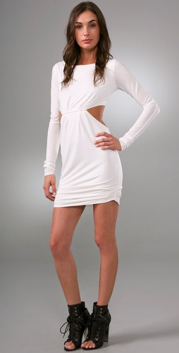 Pencey Long Sleeve Backless Dress from shopbop.com