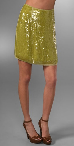 Rachel Roy Sequin Skirt