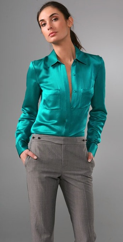 Rachel Roy Tailored Shirt