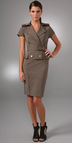 Rachel Roy Sculpted Trench Dress