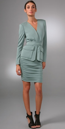Rachel Roy V Neck Jacket Dress