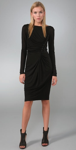 Rachel Roy Side Laced Dress