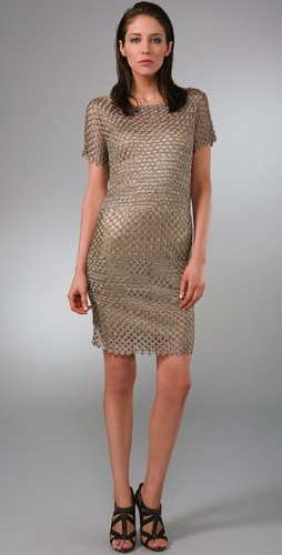 Rachel Roy Crochet Dress