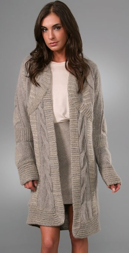 Rachel Roy Art Deco Sweater Coat