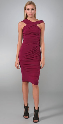 Rachel Roy Matte Jersey One Shoulder Dres