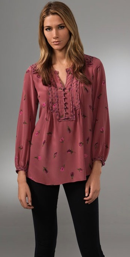 Rebecca Taylor Mix & Mingle Blouse