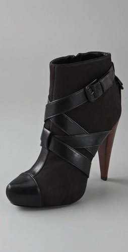 Report Signature Caleb Platform Booties