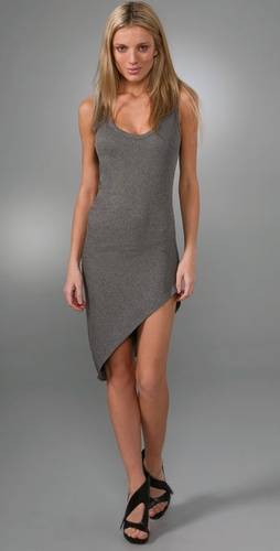 Riller & Fount Bubbles Asymmetrical Mini Dress