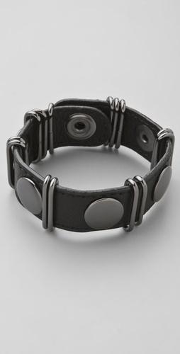Rebecca Minkoff Loop & Stud Bracelet