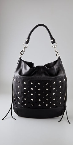Rebecca Minkoff Studded True Love Hobo