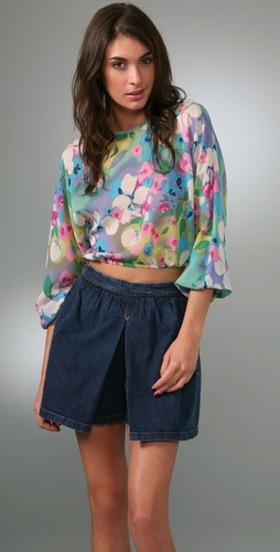 Rory Beca Dumbo Cropped Top