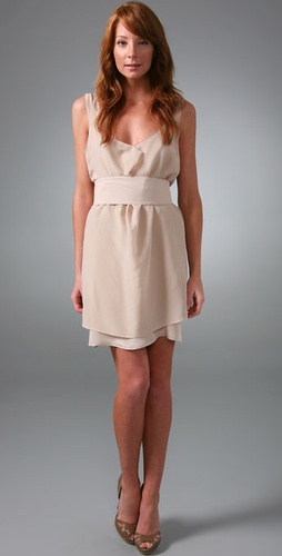 Rory Beca Fold Dress With Obi Belt