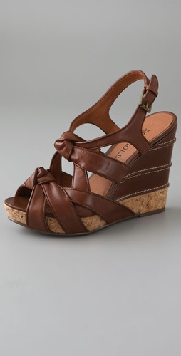 ROSEGOLD Casey Knot Wedge Sandals