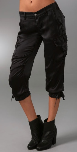 Rich & Skinny Cool Cargo Silk Pants