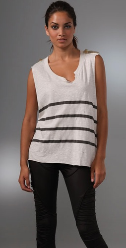 Sass & Bide The Art Beat Tank