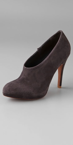 Schutz Choked Suede Pumps from shopbop.com