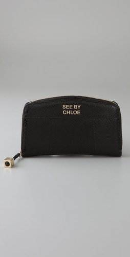 See By Chloe Backstage Long Wallet