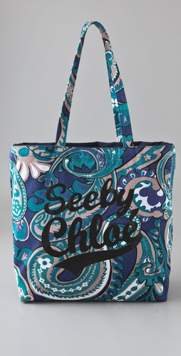 See By Chloe Print Shopping Bag