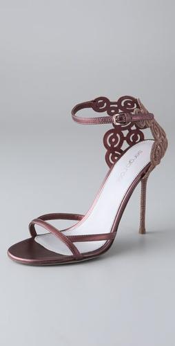 Sergio Rossi Definition Cutout Stiletto Sandals