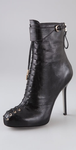 Sergio Rossi Gstaad Back Zip Booties