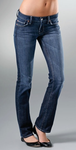7 For All Mankind Stretch Straight Leg Je