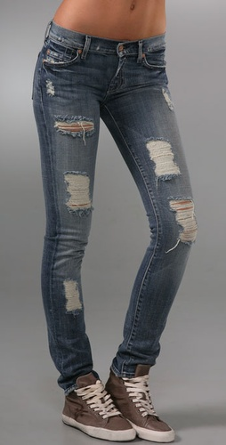 7 For All Mankind Roxanne Celeb Skinny Je