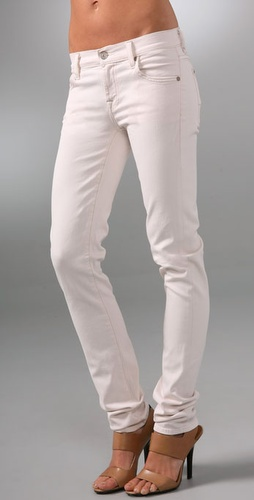 7 For All Mankind Roxanne Twill Skinny Pa