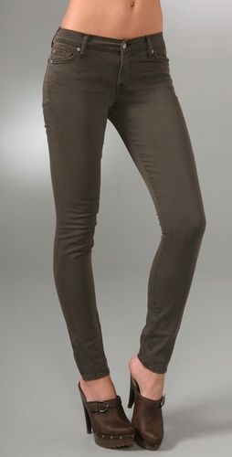 7 For All Mankind The Skinny Twill Pants