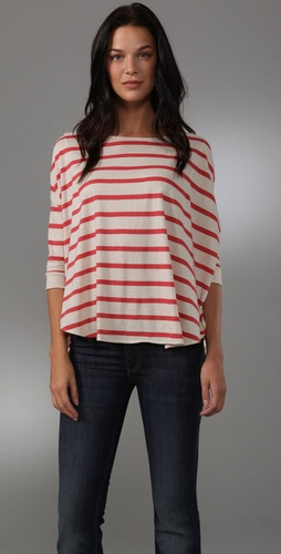 Shipley & Halmos Giddens Striped Tee