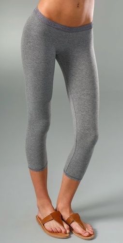 So Low Jersey Crop Leggings