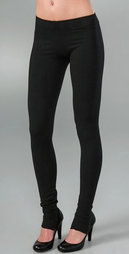 So Low High Rise Stirrup Leggings