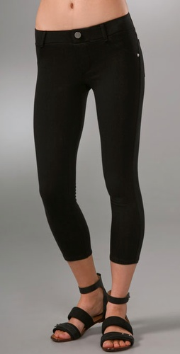 So Low Jersey Cropped Leggings